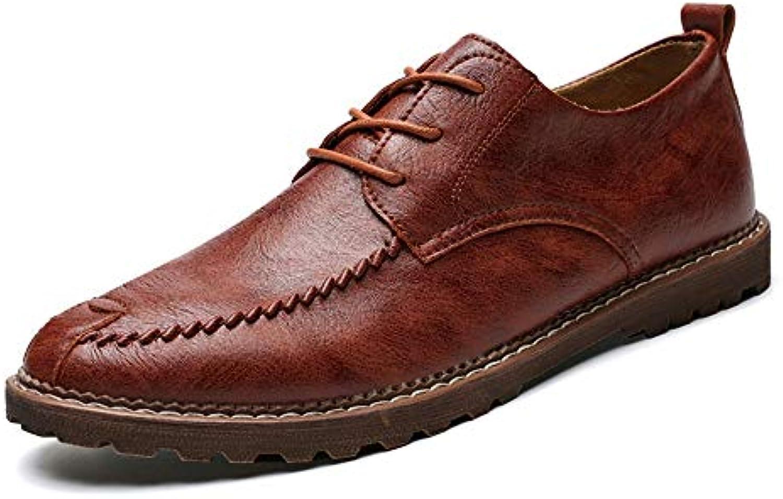 messieurs simple et mesdames 2018 une affaire d'hommes oxford décontracté simple messieurs tête ronde f ormelle classiq ue de chaussures (chaud facultatif) (couleur: lumière Marron ...vente en ligne gagne très apprécié, connu pour sa belle qualité bw20332 1f2905