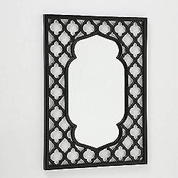 CasaJame Muebles Hogar Decoración Interior Espejo de Pared con Estilo Mediterráneo Mudéjar 64 x 47 cm