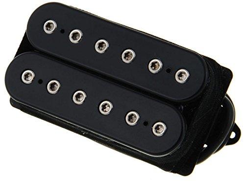 DIMARZIO dp259fbk Titan Brücke Humbucker Pickup schwarz f-spaced W/Bonus Pack Saiten der E-Gitarre 663334042407 (Titan-gitarren-saiten)