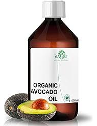 [Sponsorisé]biOty garden Huile Organique d'Avocat ● Huile Visage, Corps, Cheveux, Ongles ● Huile à Barbe (1000 ml)