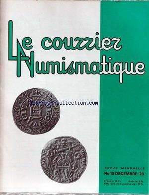 NOUVELLE INFORMATION NUMISMATIQUE (LA) [No 10] du 01/12/1978 - CONSIDERATIONS SUR LES MONNAIES DE LA PREMIERE REPUBLIQUE PAR J.C. STYLEMANS.