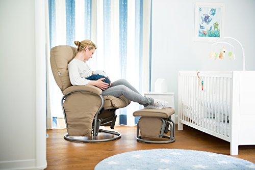 Hauck Stillstuhl 687017 Stillsessel Glider Creme - 7
