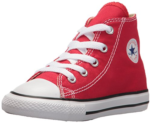 Converse Kinder Unisex CTAS-Hi-Red-Youth Krabbelschuhe, Rot (Red), 28 EU (Baby Rot Schuhe Converse)