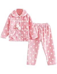 Lovely Dots Caliente Otoño E Invierno Pijamas Moda Niñas Pijamas