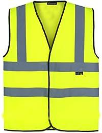 Fast Fashion Herren Arbeitskleidung Hi Vis Visibility Exekutive Sicherheit Weste