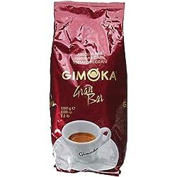 Gimoka Gran Bar, Café en Grains, Lot de 6, 6 x 1kg
