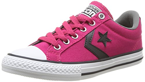 Rosa Sneaker Unisex framboise noir Rose Player Ox Star Kinder Converse RxqUT4Ox