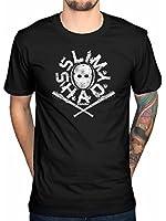 Official Eminem Shady Mask T-Shirt Slim Shaddy Marshall Mathers Relapse