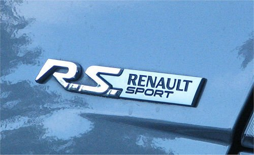 Adhesive MK2 MK3 Renault Front & Rear Badge Wraps Decal Megane Clio Twingo