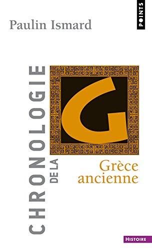 Chronologie de la Grèce ancienne