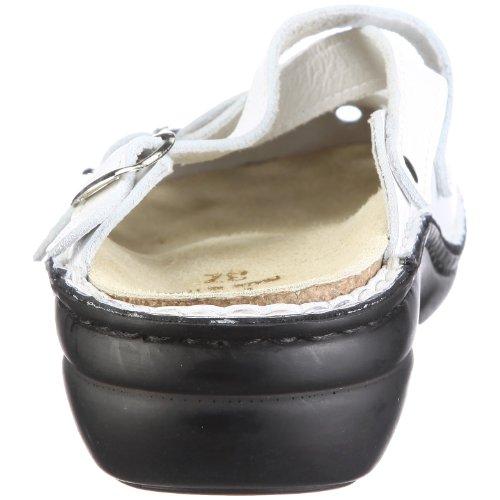 Damen Collection 026808 Clogs 10 Parma Bianco Weiss Pantoletten Herrmann Hans amp; Xawn6qTx