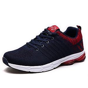 calzado: ZapatillasRunningpara Hombre Aire Libre y Deporte Transpirables Casual Zapatos...