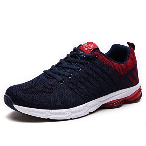 ZapatillasRunningpara Hombre Aire Libre y Deporte Transpirables Casual Zapatos Gimnasio Correr Sneakers...