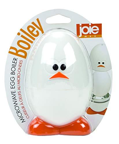 Joie Cuece Huevos microondas, Blanco, 14 cm