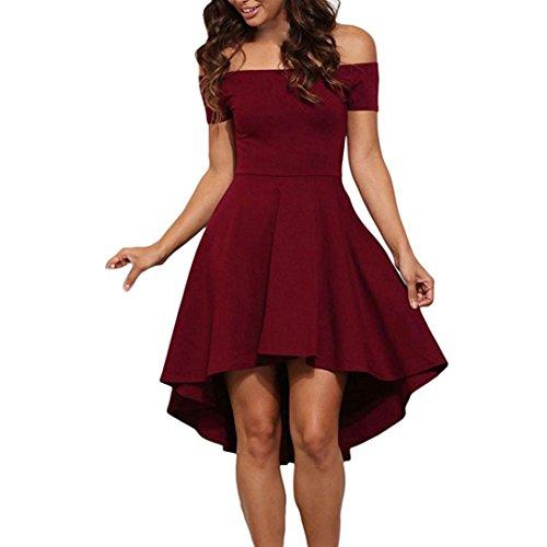 Koly donna vestiti senza spalline elegante spalla di parola asimmetrico abito a pieghe abiti gonna a coda di rondine vestito da matrimonio banchetto sera dress