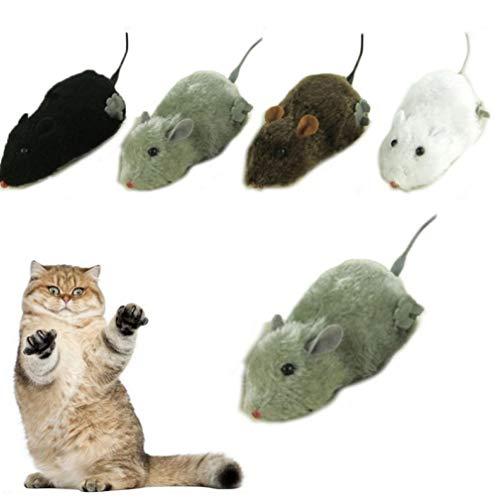 PiniceCore Wireless-Wickelmechanismus Maus Spielzeug für Katzen Plüsch