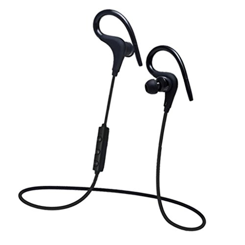 Sharplace universale cuffie stereo bluetooth portatile headphone con microfono per smartphone, tablet mp3 mp4 laptop - nero