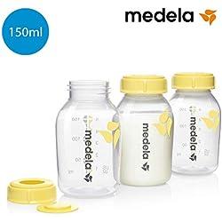 Botellas Biberón Medela para leche materna (3 unidades, 150 ml)