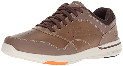 Skechers USA Men's Men's Relaxed Fit-Elent-Velago Oxford