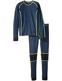 Helly Hansen Warm Set de los niños de la ropa interior térmica, Unisex, Deep Blue