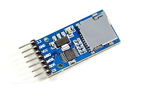 Micro sd micro sdhc card modulo spi per arduino raspberry pi neu microcontrollore