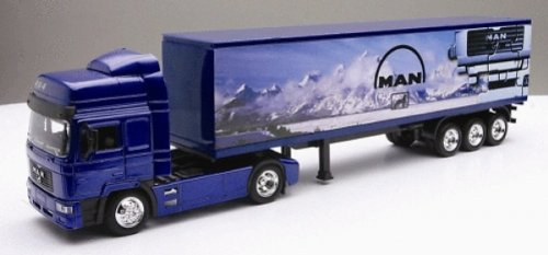 New ray - 15013 -  diecast 1:43 camion man f2000 40 container 15043