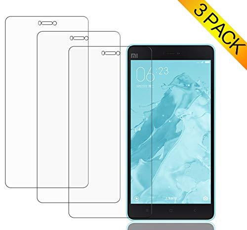 WolinTek [3 Stück] Panzerglas Bildschirmschutzfolie für Xiaomi Mi 4C, 9H Panzerglas Folie, HD Bildschirmschutzfolie/Panzerfolie,Screen Protector Glass