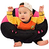 Samaaya Cotton Toddlers' Training Seat Baby Safety Sofa Dining Chair Learn To Sit Stool