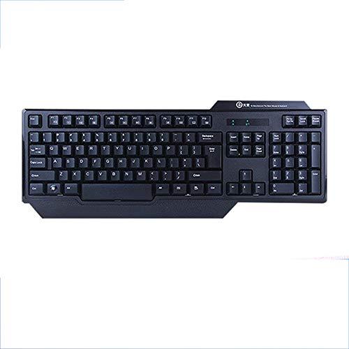 ur, Bluetooth Keyboard Game Office Learning Geeignet für Smart-Fernseher, Notebooks und Computer Schwarz (44,0 cm * 20,0 cm * 3,0 cm) ()