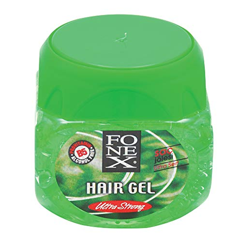 Fonex Haargel ultra stark 500 ml alkoholfrei (1) | Styling Hair Gel for men | Haargel für Männer ohne das Haar auszutrocknen