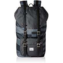 Herschel Little America Routes/Black Synthetic Leather