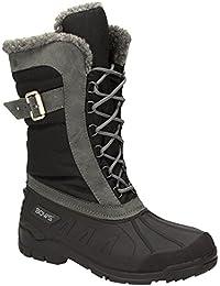 BOWS® -SUSI- Winterstiefel Damen Schnee Stiefel Snow Schuhe Winterboots warm gefüttert wasserdicht wasserabweisend
