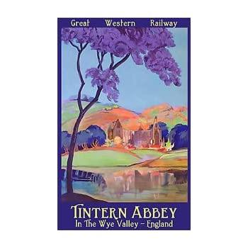 THE DEE VALLEY  Vintage LNER Art Deco Railway//Travel Poster A1,A2,A3,A4 Sizes