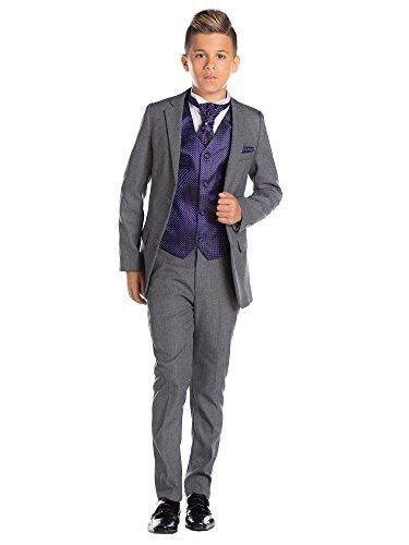 (Paisley of London, grau für Jungen folgt, Kostüm Jungen Stinkefinger, Kostüm, KTV, 12–18Monate–13Jahre Gr. 3 Jahre, Pourpre)