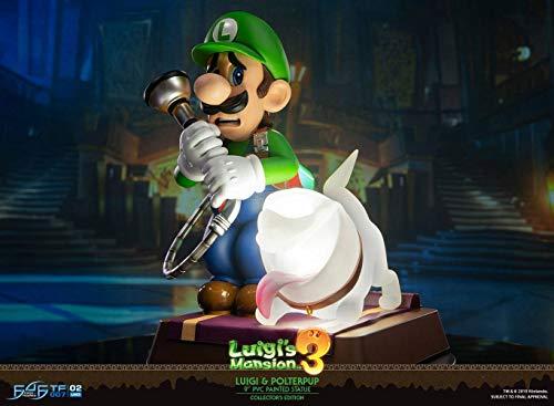 Luigi's Mansion 3 - Figurine Luigi, Ver Collector, PVC, 23 cm