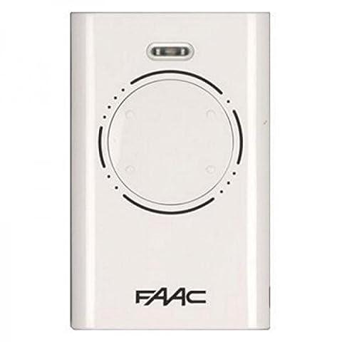 Télécommande FAAC XT4 433 SLH Blanc
