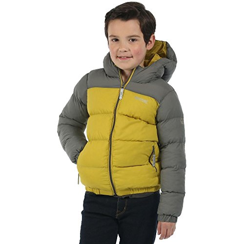 Boys Insulated Hooded Jacket (Regatta Boys Giant II Thick Insulated Hooded Jacket)