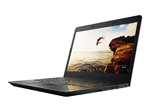 Lenovo 20H1006KGE 35,56 cm (14 Zoll) ThinkPadE470 Notebook (Intel Core i5-7200U, 8GB RAM, Intel HD Graphics 620, Win 10 Pro, QWERTY (UK keyboard)) schwarz