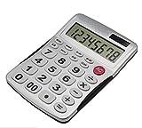 Calcolatrice Calcolatrice semplice ed elegante Display a 8 cifre Batteria solare con doppio alimentatore Calcolatrice economica per ufficio bancario Facile da trasportare