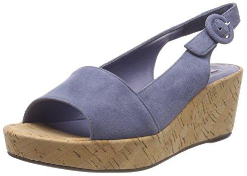 5-10 2102 6700, Zapatos de Talón Abierto para Mujer, Gris (Lightgrey), 34.5 EU Högl