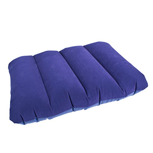 Almohada de viaje inflable Milestone Camping - Azul