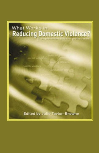 What Works in Reducing Domestic Violence?: A Comprehensive Guide for Professionals