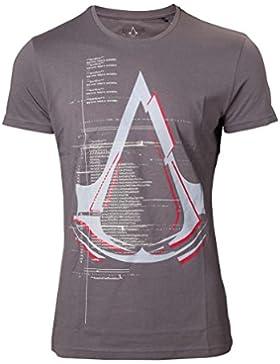 Assassin's Creed Logo Camiseta Gris