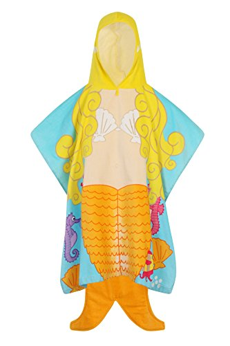 Nifty Kids Soft Cotton Hooded Novelty Pirate Beach Bath Towels