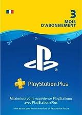 PlayStation Plus: abonnement de 3mois | Code Jeu PSN - Compte français