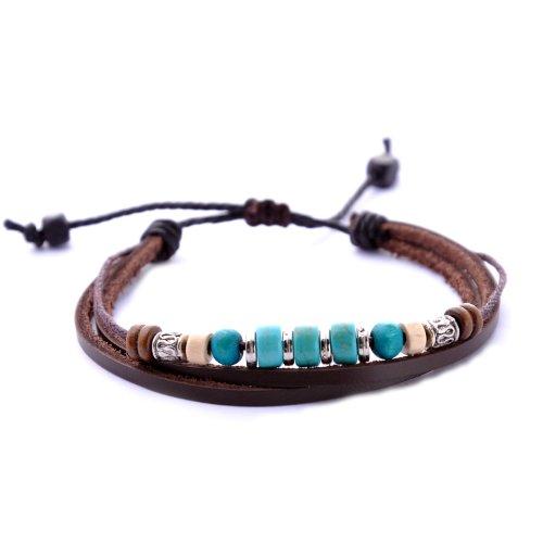 Morella Damen Armband aus Leder in unterschiedlichen Styles // verschiedene Modelle wählbar