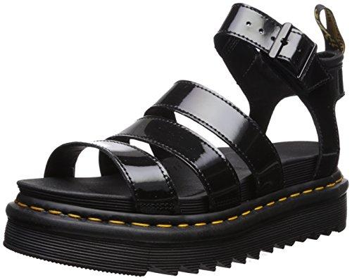 Dr.Martens Blaire 24192001 Patent Leather Womens Sandals - Black - 6
