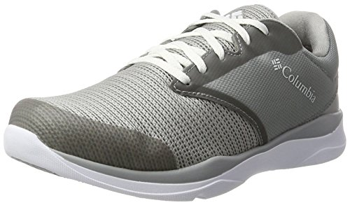 Columbia Ats Trail Lite Wp, Scarpe Sportive Outdoor Uomo Grigio (Steam, White)