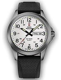 Reloj Swiss Military correa negro esfera gris – COD. ...