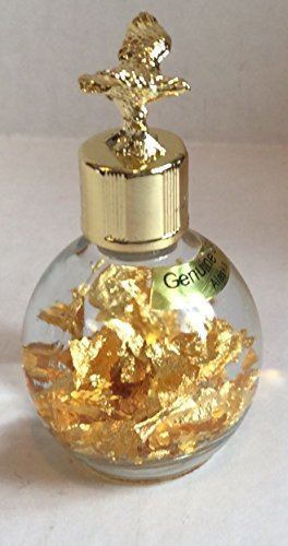 alaska-gold-24k-gold-flakes-in-1-oz-miners-assay-bottle-with-eagle-top-by-souvenier